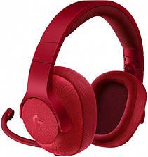 Навушники Ігрова гарнітура Logitech G433 7.1 Red, фото 2