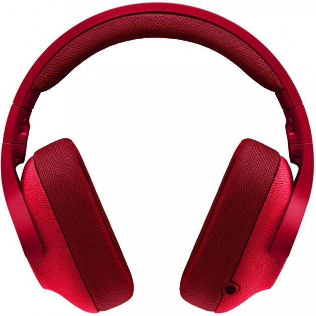 Навушники Ігрова гарнітура Logitech G433 7.1 Red