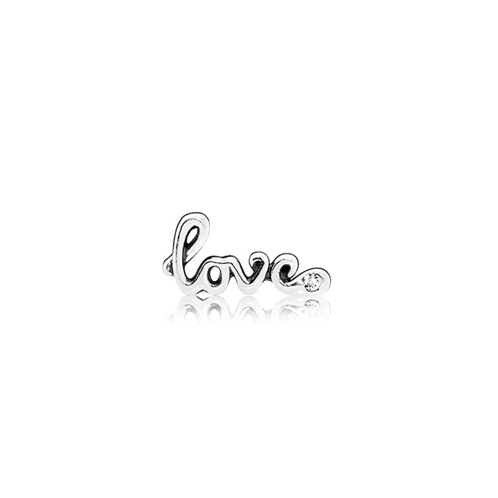 Сменный элемент (петит) «Love» для наполнения прозрачного медальона