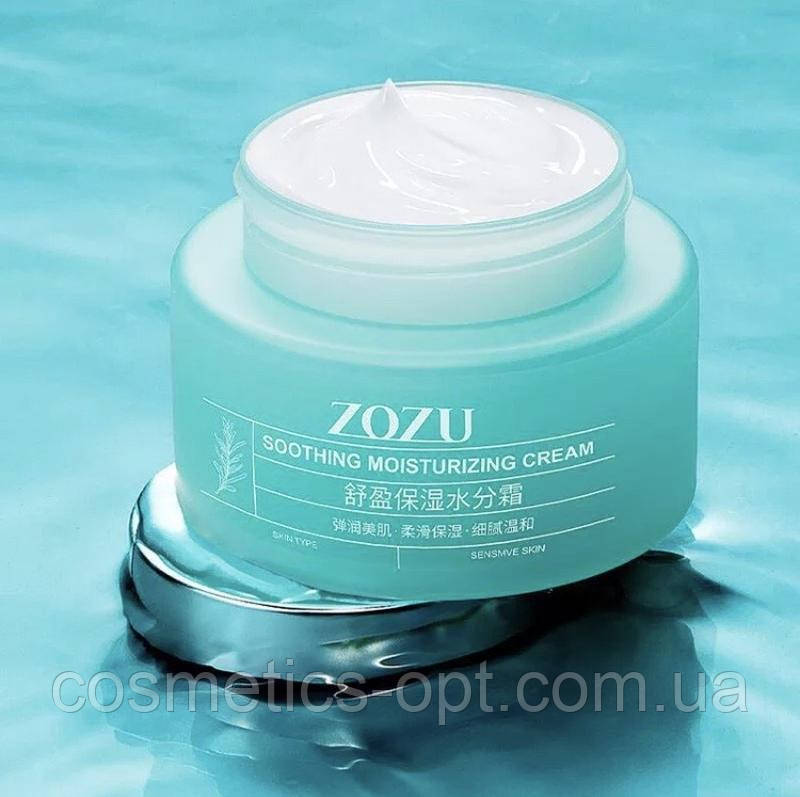 Нежный крем для увлажнения кожи с экстрактом чайного дерева и гиалуроновой кислотой ZOZU, 50 g