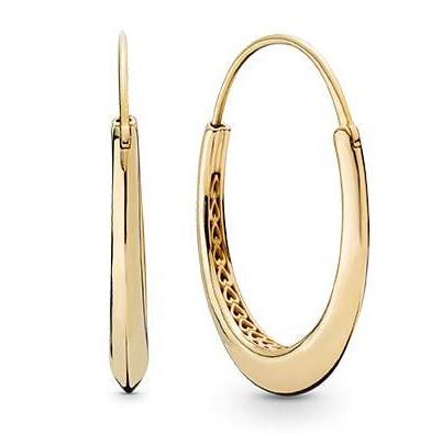 Серьги «Экзотические кольца»