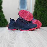 Чоловічі зимові кросівки в стилі Adidas Climaproof чорні на красній, фото 3
