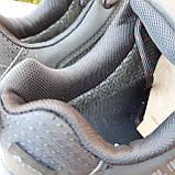 Чоловічі зимові кросівки в стилі Adidas Climaproof чорні на красній, фото 9