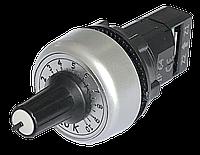 Потенциометр 10 кОм  однооборотный IP64 врезной диаметр 22 мм