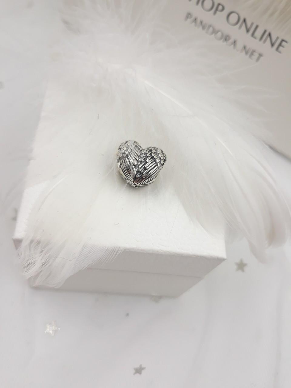 Шарм «Крылья ангела» из серебра 925 пробы