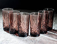 "Набор стаканов ""Зальцбург"" Лилак 380 мл, Luminarc 6шт."