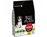 Сухий корм для цуценят Purina Pro Plan Puppy Medium OptiStart 3 кг (курка та рис)