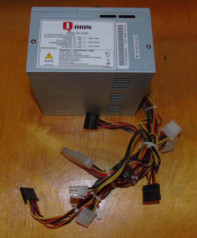 350W Блок питания FSP Q-Dion QD350