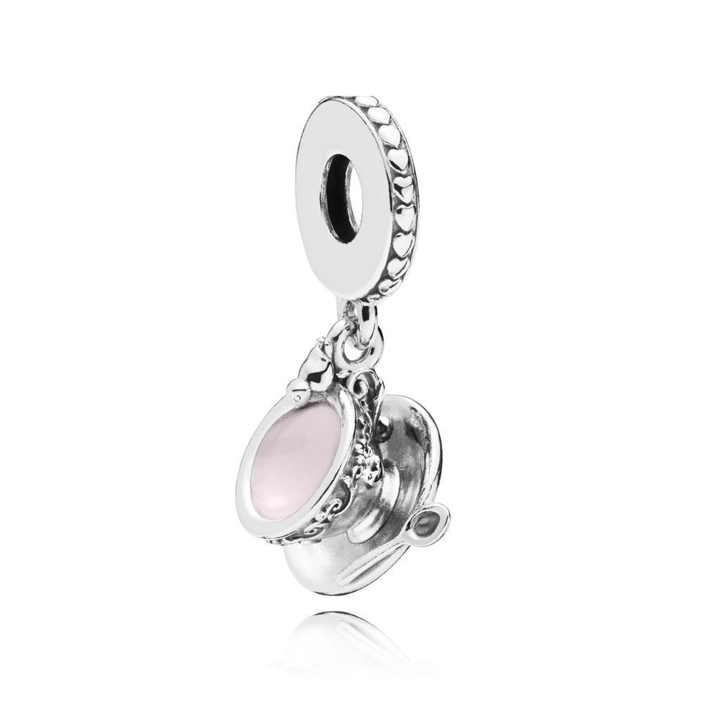 Серебряная подвеска «Чашечка»