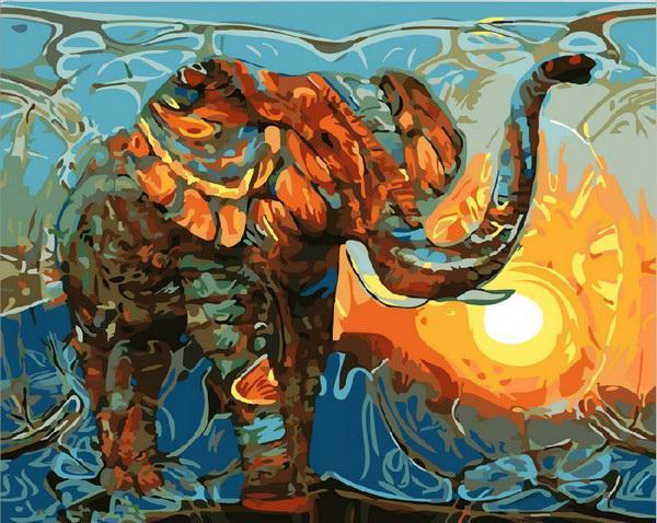 Картина по номерам рисование Mariposa Q1876 Индийские мотивы 40х50см набор для росписи по цифрам, краски,