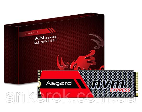 SSD накопичувач Asgard M.2 NVME 256 GB (AN 256NVME-M.2/80)