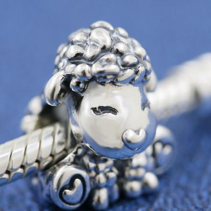 Серебряный шарм Cute Sheep Disney
