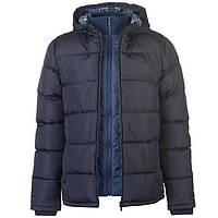 Зимняя куртка Lee Cooper (оригинал) темно-синяя, размер M