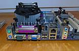 775 Материнская плата ECS 915GV-M2 + Процессор Intel Celeron 336, фото 4