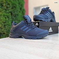 Мужские зимние кроссовки в стиле Adidas Climaproof черные, фото 1