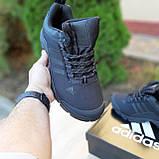 Чоловічі зимові кросівки чорні Climaproof, фото 2