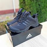Чоловічі зимові кросівки чорні Climaproof, фото 3