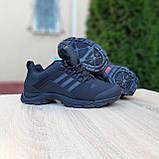 Чоловічі зимові кросівки чорні Climaproof, фото 4