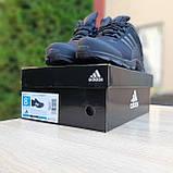 Чоловічі зимові кросівки чорні Climaproof, фото 5