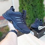 Чоловічі зимові кросівки чорні Climaproof, фото 6