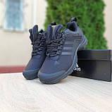 Чоловічі зимові кросівки чорні Climaproof, фото 7