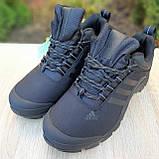 Чоловічі зимові кросівки чорні Climaproof, фото 8