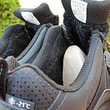 Чоловічі зимові кросівки чорні Climaproof, фото 9