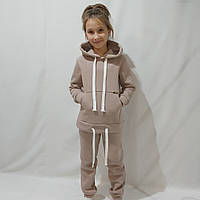 Тёплый спортивный костюм девочки (рост 134-158)
