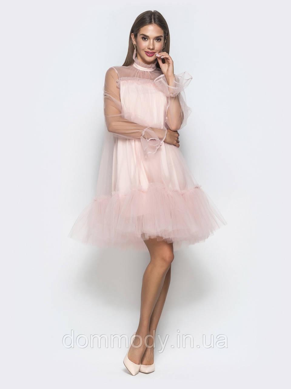 Платье женское Aria powder