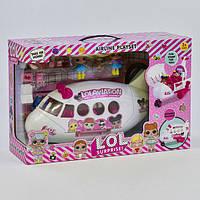 Игровой набор самолет Лол К 5625 с куколками. L.O.L. Surprise.