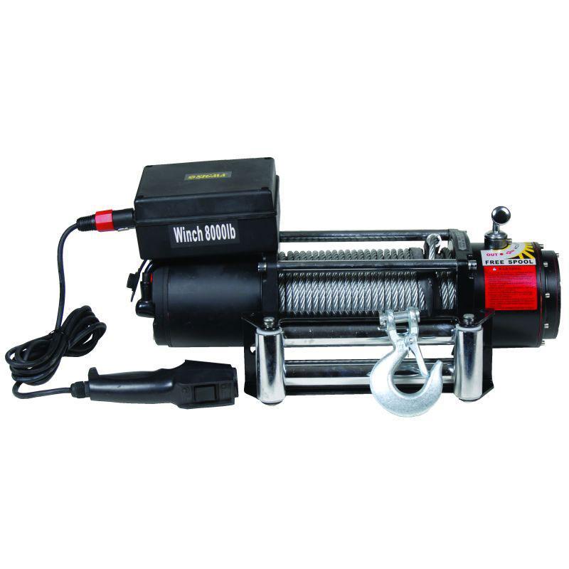 Лебедка автомобильная электрическая 8000lbs Sigma (6130031)