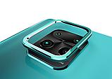 Коплект защиты камеры рамка + стекло для Xiaomi Redmi Note 9S, фото 3