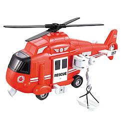 Игрушка Спасательный вертолет (звук, свет) Big Motors WY750B