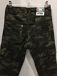 Утепленные коттоновые брюки для мальчика 134-164 см, фото 4