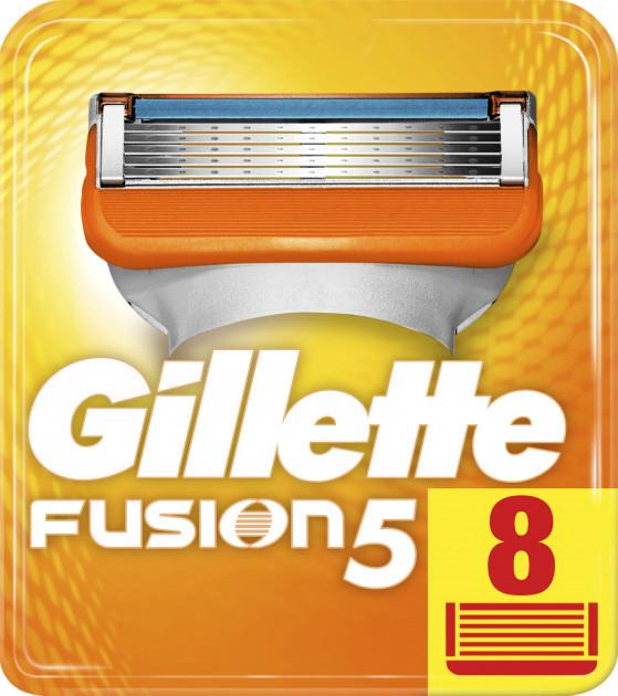Змінні касети Gillette Fusion 5 8 шт
