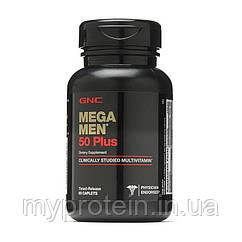 GNC Витамины и минералы для мужчин Mega Men 50 Plus (60 caps)