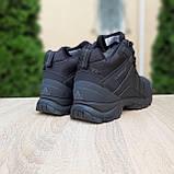 Чоловічі зимові кросівки в стилі Adidas Climaproof чорні, фото 7