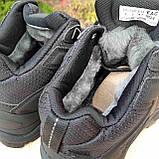 Чоловічі зимові кросівки в стилі Adidas Climaproof чорні, фото 8