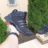 Чоловічі зимові кросівки в стилі Adidas Climaproof чорні, фото 9