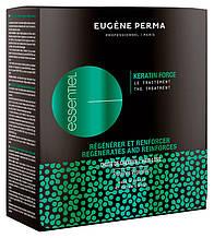 Интенсивная программа против выпадения волос Eugene Perma Essentiel Keratin Force The Treatment 12x3,5 мл