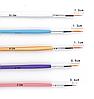 Набор кистей для росписи и дизайна ногтей 5 штук