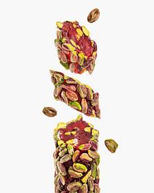 Рахат Лукум из лепестков роз и шелковицы с цельной фисташкой Premium