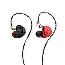 TRN V90s Гібридні 6-і драйверні HI-FI навушники Black, фото 2