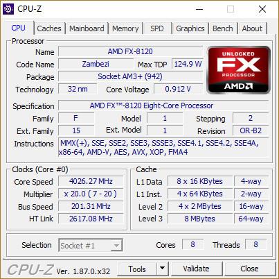 Процессор AMD FX-8120 +Охлаждение