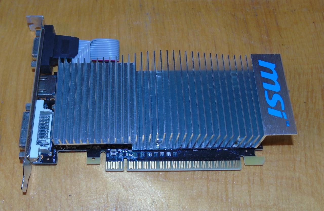 Видеокарта MSI GeForce GT210 1Gb GDDR3 64bit
