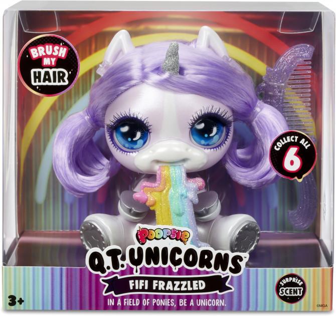 Poopsie Q. T. Unicorn W1 Fifi Frazzled Єдиноріг Фіфі Фразлд ароматизований з аксесуарами (Единорог Пупси Фифи)