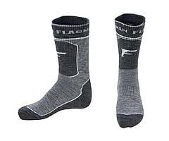 Носки термотреккинговые Flagman Extra Heat Merino Wool Higth Grey 44-45 L