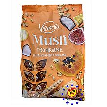 Мюсли Vitanella с тропическими фруктами Польша 350 г