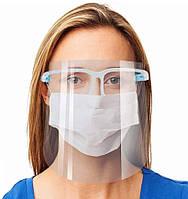 Защитный экран для лица FACE SHIELD Glasses | Маска защитная для лица | Лицевой щиток
