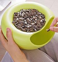 Тарелка для семечек | Миска для фруктов и семечек | Блюдо для снеков